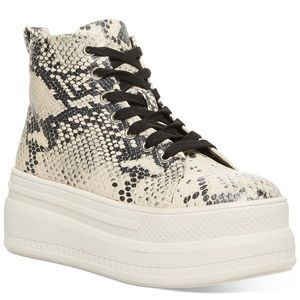 Madden Girl Chuckle Platform High-Top Sneakers